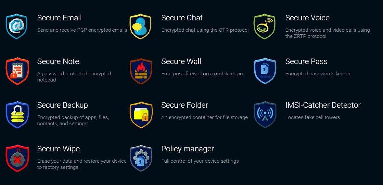 Secure Phone App
