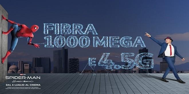TIM mette il turbo e lancia la fibra a 1000 Mega