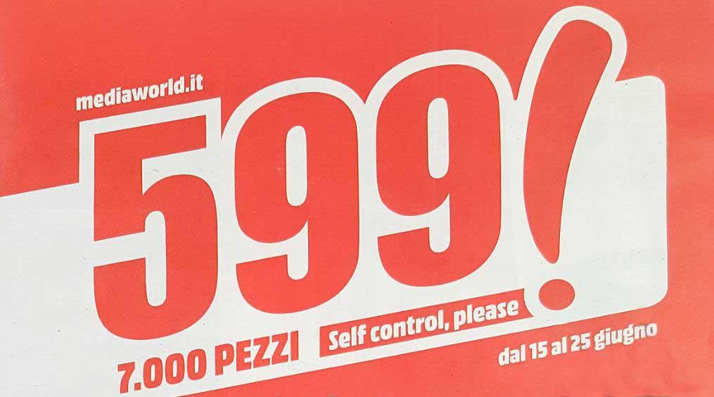 Nuovo volantino Mediaworld dal 15 al 25 giugno con iPhone 7 in offerta a 599€