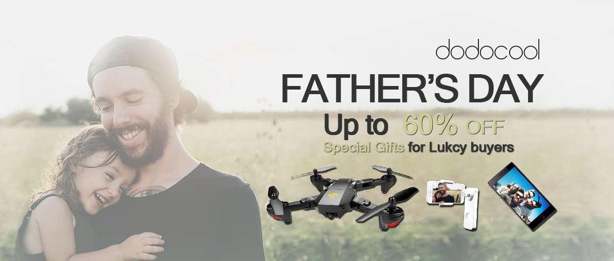 Compra un prodotto sottocosto Dodocool in occasione del Father's Day e vinci un regalo
