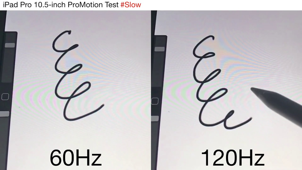 I benefici dello schermo a 120Hz di iPad Pro 2 anche per la Apple Pencil