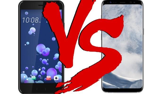 Migliori smartphone – HTC U11 vs Samsung Galaxy S8: hardware e dettagli con foto!