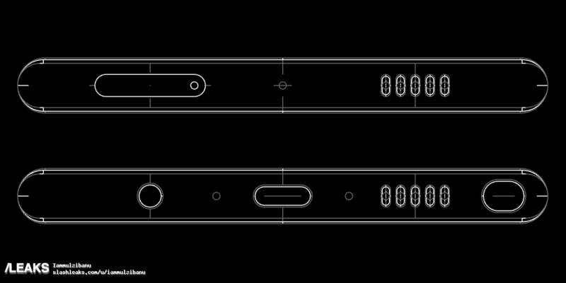 Samsung Galaxy Note 8, nuovi disegni tecnici suggeriscono funzionalità AR