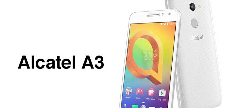 Alcatel A3 finalmente disponibile in Italia