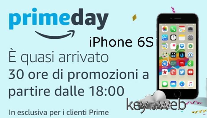 Amazon Prime Day, riscaldiamoci con l'offerta iPhone 6S + pellicola a 549,90€