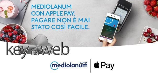 Apple Pay ora compatibile con Banca Mediolanum