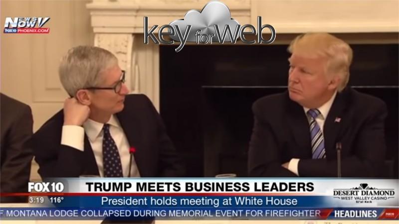 Tim Cook mente al Presidente Donald Trump: trio di fabbriche in USA, ma non se ne vede traccia