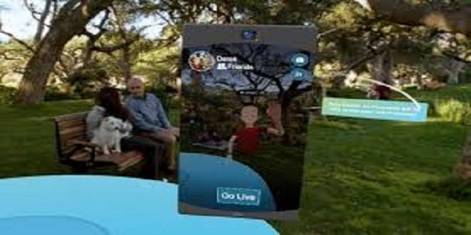 Facebook aggiunge il live-streaming alla sua app per realtà virtuale Spaces