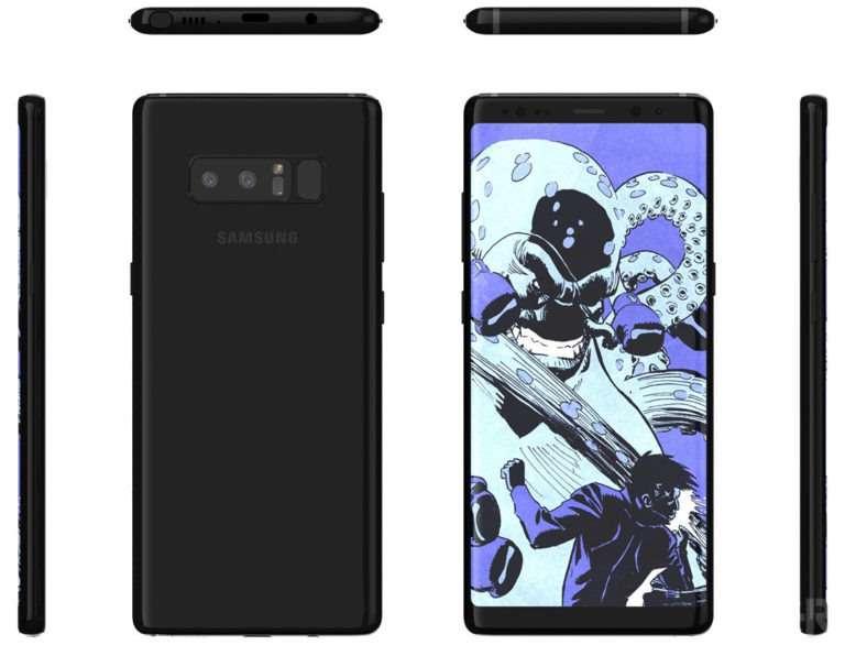 Samsung Galaxy Note 8, Galaxy S9 e Note 9 tutti dispositivi dotati di dual camera, il nuovo punto di riferimento della casa