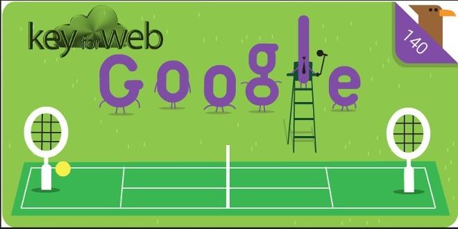 Google celebra i 140 anni di Wimbledon con uno speciale Doodle