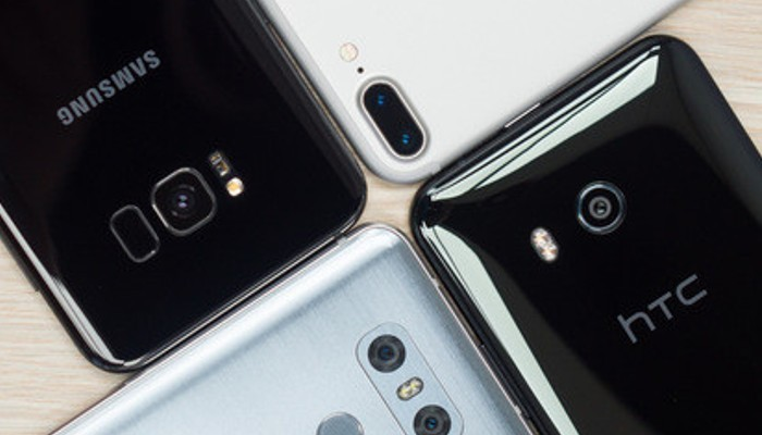 La migliore comparazione fotografica tra HTC U11 vs Galaxy S8+ vs iPhone 7 Plus vs LG G6