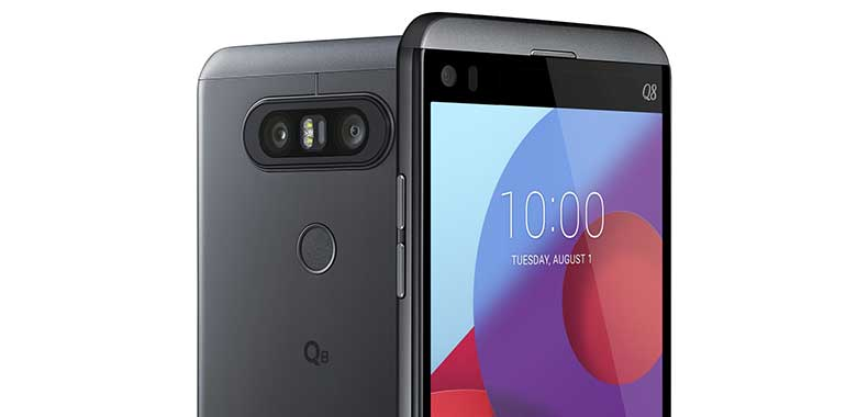Lg presenta un nuovo smartphone: LG Q8 per chi ama la multimedialità