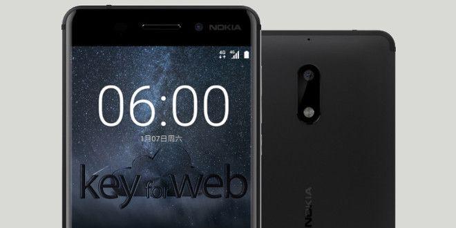 Nokia 6, niente LED di notifica per la versione globale