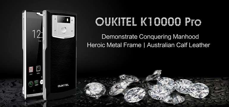 OUKITEL K10000 Pro, video dimostra come venga testato in ogni situazione