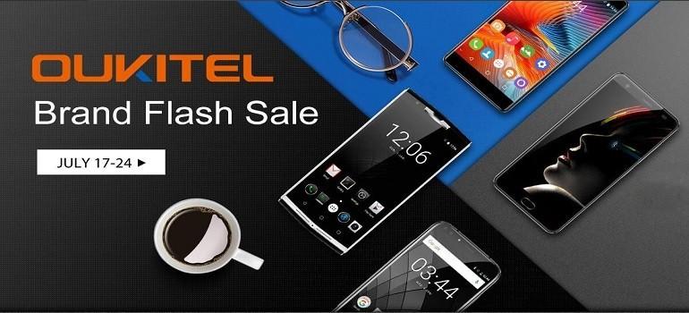 OUKITEL annuncia un'importante vendita lampo su Gearbest: 12 device scontatissimi!