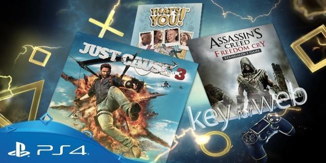 PlayStation Plus, i titoli gratuiti di agosto 2017