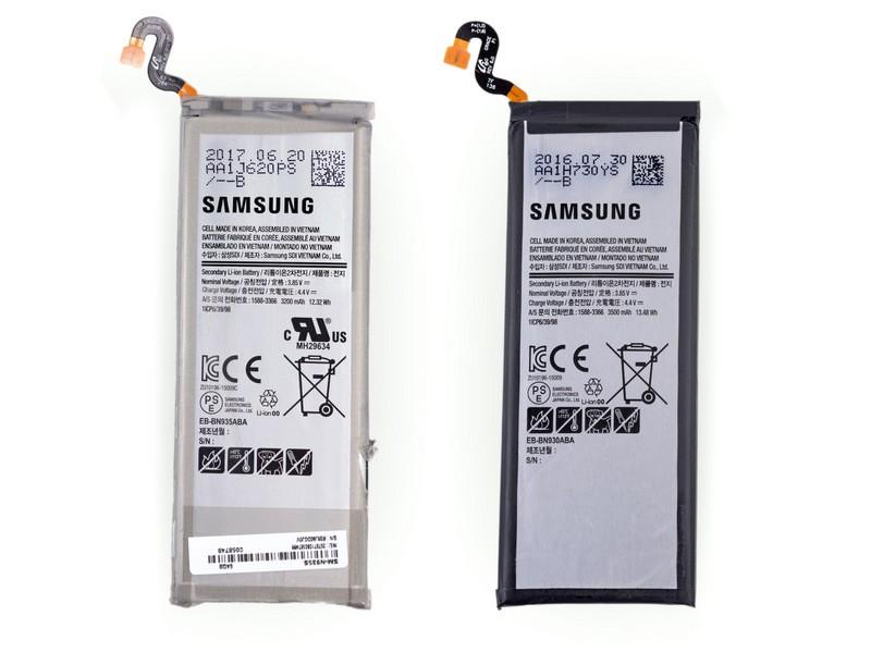 teardown iFixit Galaxy Note 7 FE