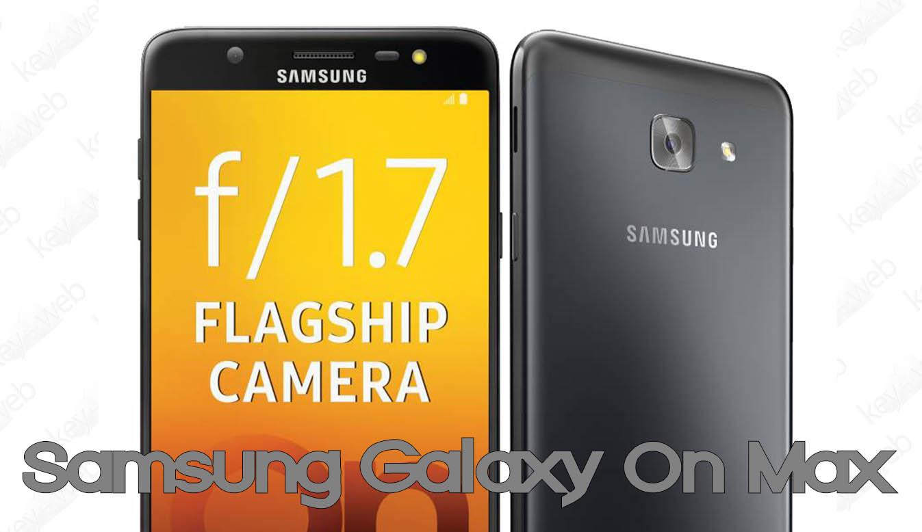 Samsung Galaxy On Max ufficiale in India