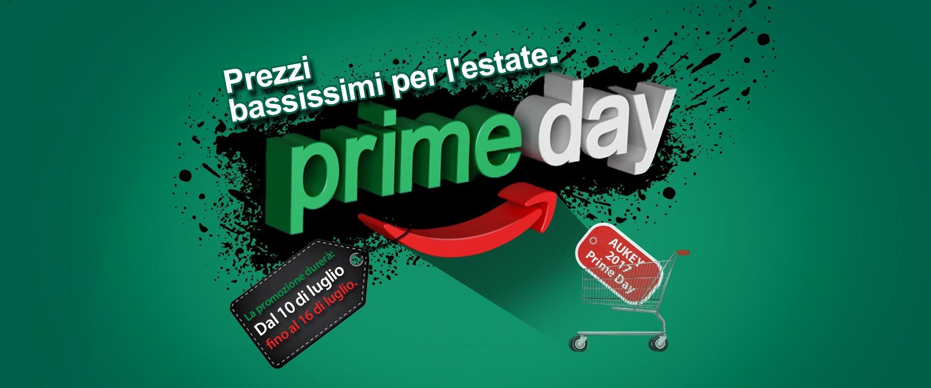 AUKEY Prime Day 2017: sconti fino al 40% su tanti prodotti per l'Amazon Prime Day