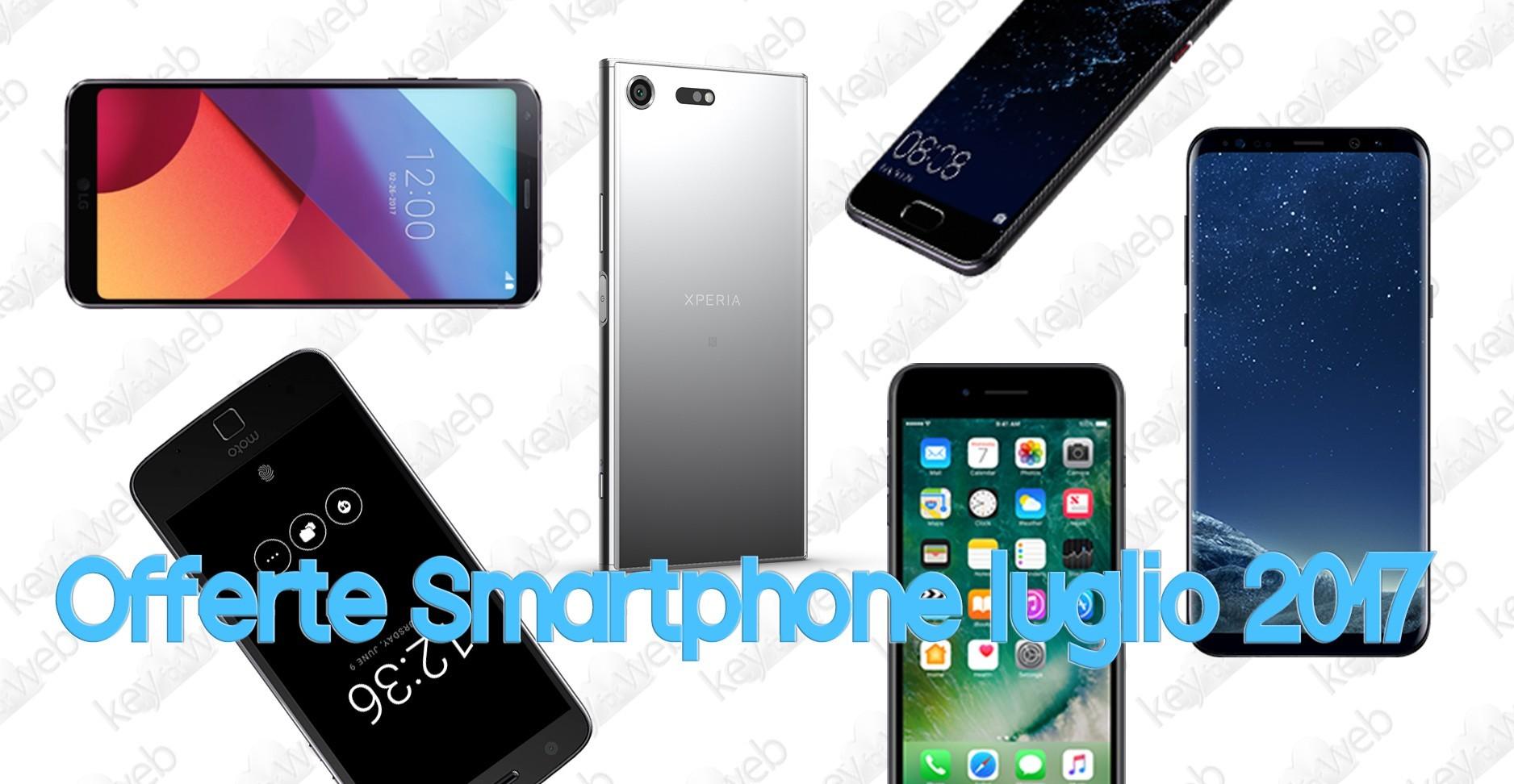 Offerte Smartphone Online – fascia alta luglio 2017