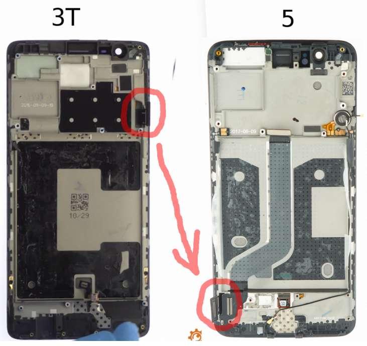 OnePlus 5 vs OnePlus 3T