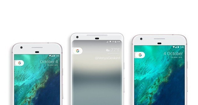 Ecco il confronto dimensionale di Google Pixel XL 2