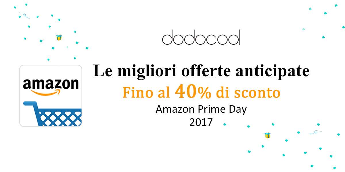 Amazon Prime Day, Dodocool offre i suoi dispositivi ad un prezzo scontato da oggi 3 luglio