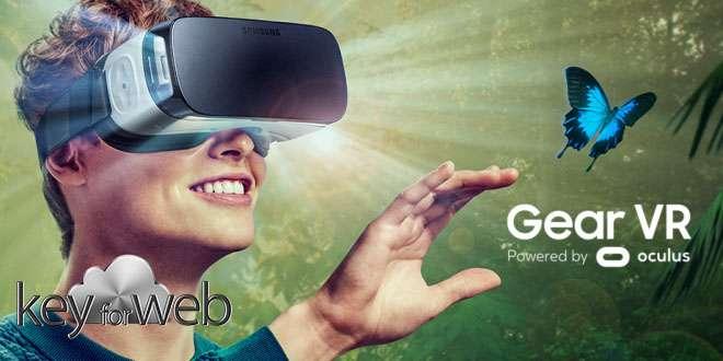 Nel futuro di Gear VR, riconoscimento delle mani e tracciamento degli occhi
