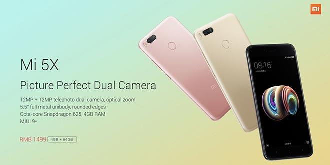 Introdotta una variante economica per Xiaomi Mi 5X