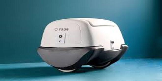 Yape, il robottino italiano che fa le consegne