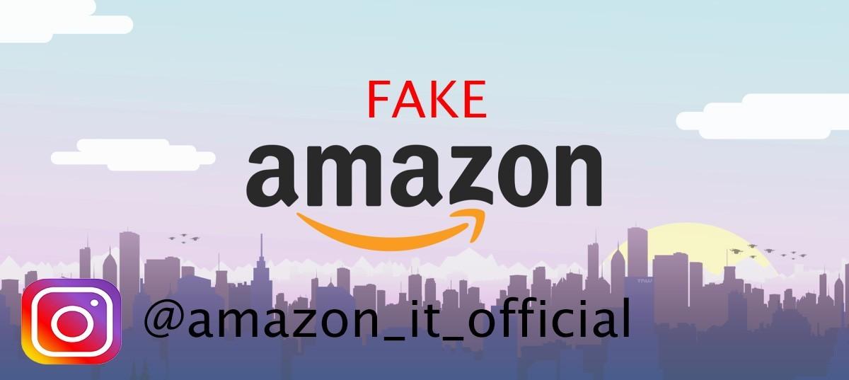 Account Instagram Amazon IT Official, il fake che promette buoni da 50 euro