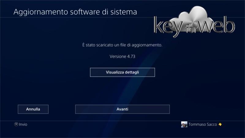 Aggiornamento software di sistema PlayStation 4 4.73 rilasciato ufficialmente