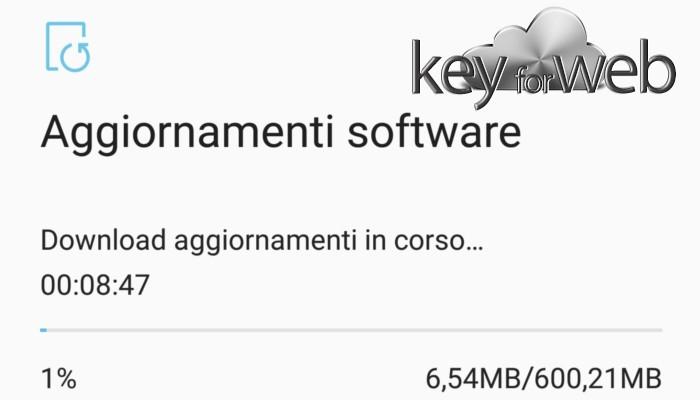 Aggiornamento Samsung Galaxy S8 versione G955FXXU1AQH3 disponibile in Italia