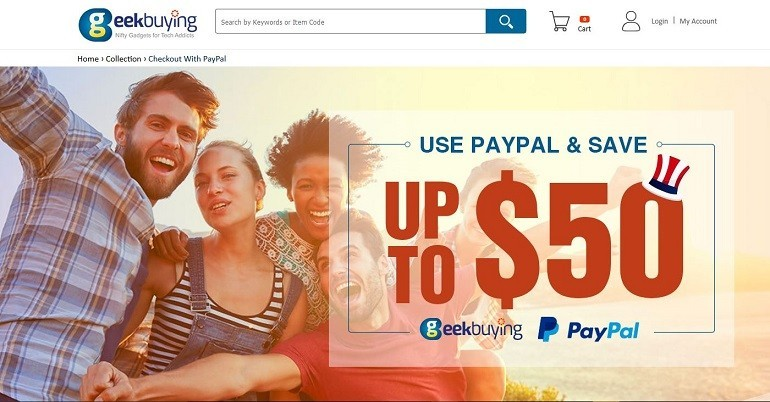 Chuwi e Geekbuying: con PayPal un coupon fino a 50$