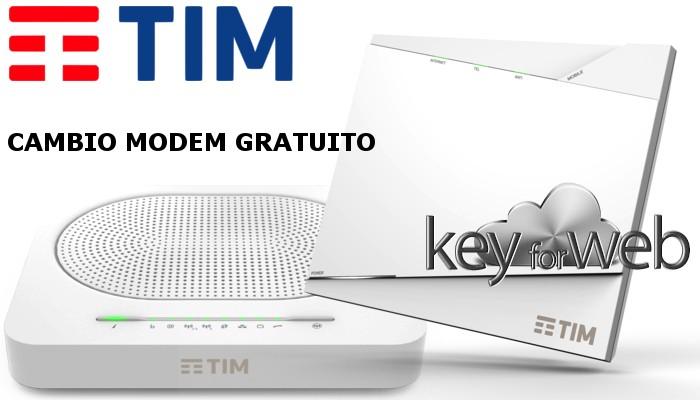 Fibra Ottica TIM: Cambio modem gratuito con i nuovi AG COMBO per i clienti VDSL