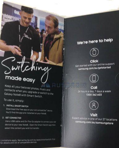 Appare la brochure del Samsung Galaxy Note 8 che rivela dettagli inediti della fotocamera
