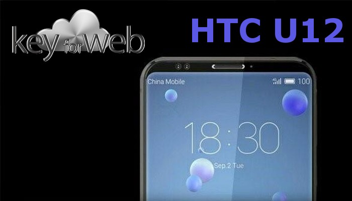 HTC U12 immaginato con schermo da 5,7″ 4K, 6GB, 128GB di memoria interna e design borderless