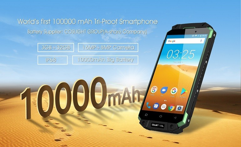 Oukitel K10000 Max: rilasciato il video ufficiale 3d