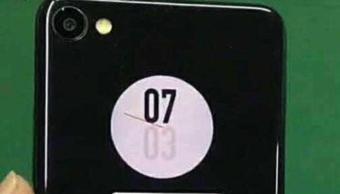 Gli esperimenti continuano, ecco Meizu X2 con display posteriore circolare