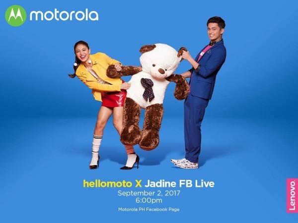 Moto X4 - hellomoto X Jadine FB Live