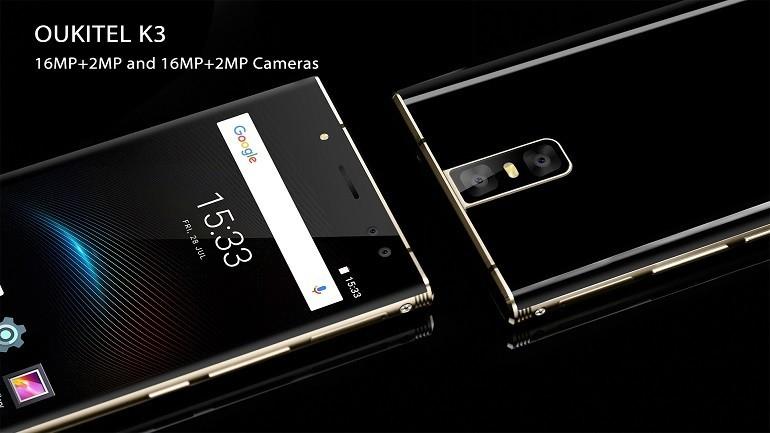 OUKITEL K3: esperienza superiore grazie a due fotocamere targate Samsung
