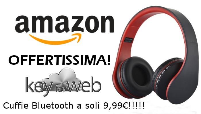 Offerte Amazon incandescenti: Cuffie Bluetooth, PUGO TOP Wireless ad un prezzo regalo