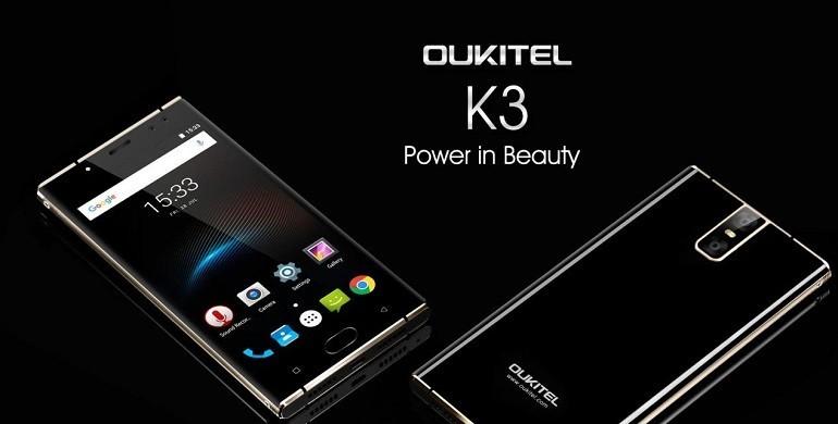 Oukitel K3: a nudo tutte le specifiche