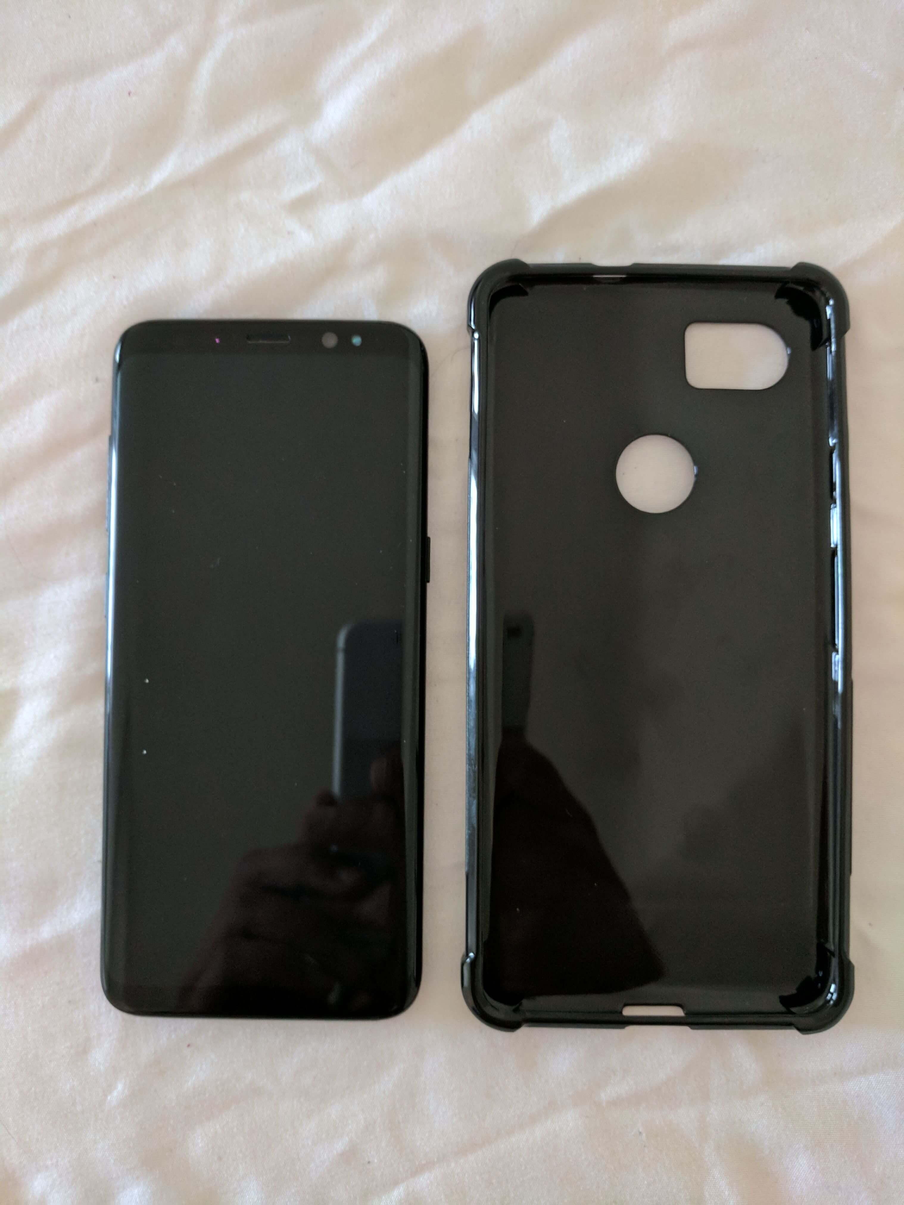 I case di Google Pixel 2 in paragone con la prima serie, Nexus 6P e Galaxy S8