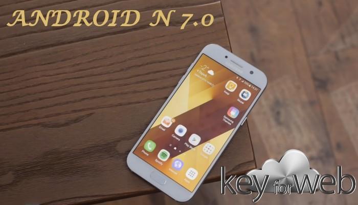 Samsung Galaxy A5 (2017) riceve ufficialmente Android N 7.0 partendo dalla Russia, presto in Italia