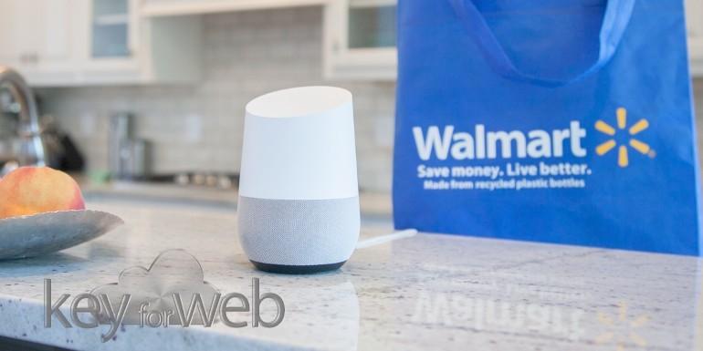 Shopping con comandi vocali, Google e Walmart si alleano per sfidare Amazon