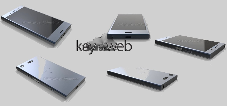 Nuovi render Xperia XZ1 arrivano ufficialmente da Sony