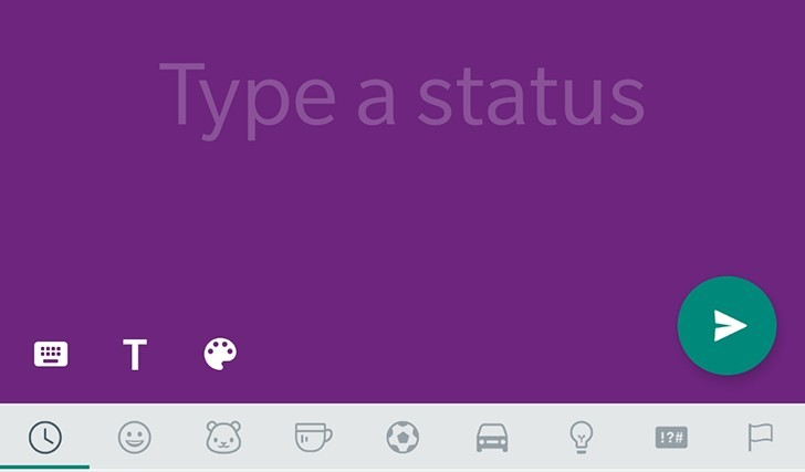 WhatsApp sta testando gli aggiornamenti di stato colorati come Facebook