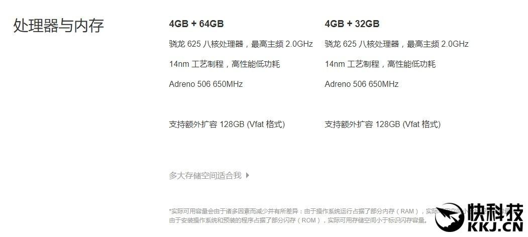 Xiaomi Mi 5X variante