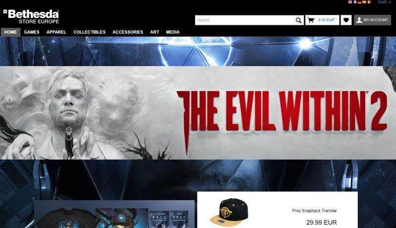 Bethesda Store Europa: arriva il merchandise di DOOM, Fallout, The Evil Within e altri ancora